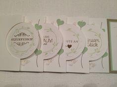 Circle Card Mini Album Hochzeit ~ STEMPEL...und deine Ideen werden wahr...