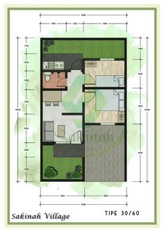 Minimal House Design, Minimal Home, Small House Design, House Layout Plans, House Layouts, House Floor Plans, Vintage House Plans, Boarding House, House Blueprints