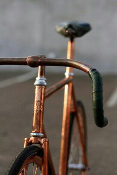 Chrome fixie breakless vintage