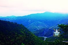 Mountain view- nainital - india