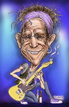 Keith Richards  (By Harbord)