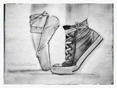 en pointe ballet dibujo - Google Search