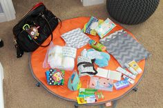 Our Styled Suburban Life: Bradley's Diaper Bag