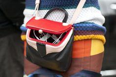 Small shoulder purse.