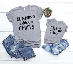 11c5788e36 Tired Mama Shirt, Tired AF Shirt, Baby Shower Gift, Mommy and Me Shirts