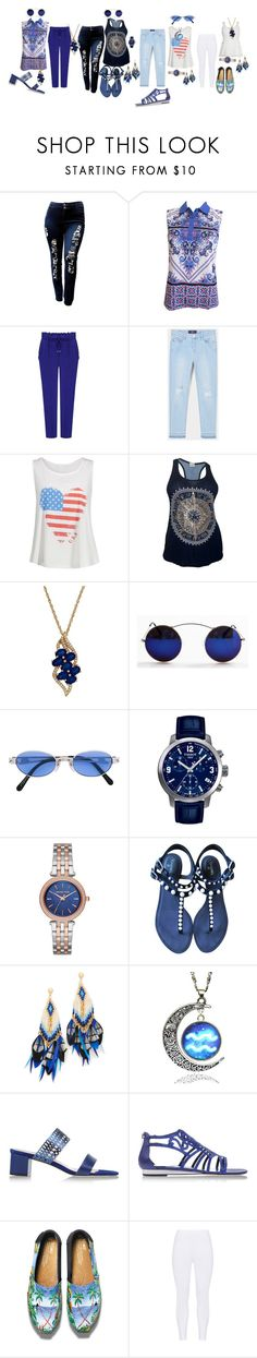 """""""U got 4 choices now"""" by blujay1126 ❤ liked on Polyvore featuring MANGO, Lord & Taylor, Jean-Paul Gaultier, Tissot, Michael Kors, Chanel, Gas Bijoux, Aquatalia by Marvin K., René Caovilla and TOMS"""