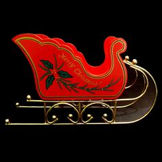 Wooden Christmas Sleigh Vintage Inspired Design Wood with Metal Runners Christmas Sleighs, Santa Sleigh, Wood Design, Runners, Vintage Inspired, Xmas, Neon Signs, Metal, Inspiration