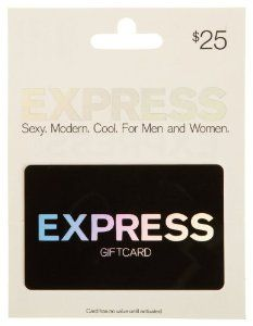 Express Gift Card: Curt likes Express Men for their dressier clothes- needed whenever the professional career finds him!