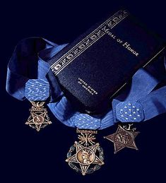 National Medal of Honor Day: Today we remember and honor all who have earned this highest award for valor bestowed upon a member of the Armed Services in the United States Us Military Medals, Army Medals, Military Memorabilia, Military Pins, Us Navy, The Fog Of War, Air Force, Once A Marine, Military Decorations