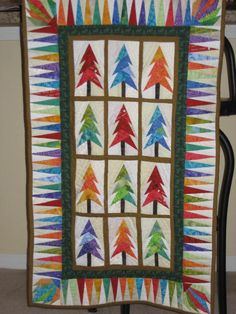 Bright Forest Quilt