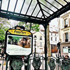 Focus On Paris: Abbesses station