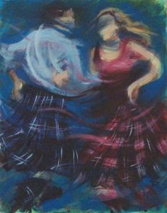 Ceilidh Spin by Janet McCrorie.
