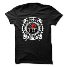 Nurse Aged To Perfection 1978 T-Shirts, Hoodies. SHOPPING NOW ==► https://www.sunfrog.com/Birth-Years/Nurse--Aged-To-Perfection-1978-29936469-Guys.html?id=41382