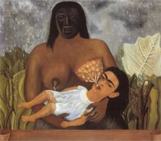 My Nurse and I Artiste : Frida Kahlo Période : Art naïf Création : 1937 Genre : Portrait