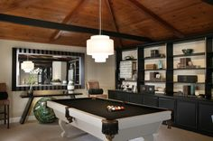 Pool Table...wish our pool room looked this amazing!!
