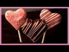 Valentinstags Cakepops - Herzchen Cakepops - von Kuchenfee - YouTube