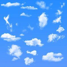 無料で使える!Photoshopの『雲のブラシ』集10選!