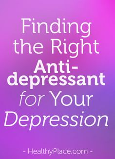 Special report on why people with major depression sometimes switch antidepressant medications, why you should never suddenly stop your antidepressant and how to change antidepressants safely.  www.HealthyPlace.com