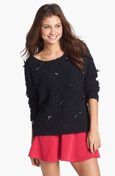 #Nordstrom                #love                     #Love #Design #Detail #Sweater #(Juniors) #Nordstrom                          Love by Design Bow Detail Sweater (Juniors) | Nordstrom                                                 http://www.seapai.com/product.aspx?PID=188092