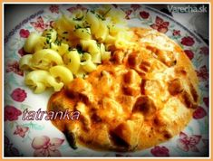 Hlivový paprikáš 2 (fotorecept) - recept | Varecha.sk Macaroni And Cheese, Ethnic Recipes, Food, Red Peppers, Essen, Mac And Cheese, Yemek, Meals