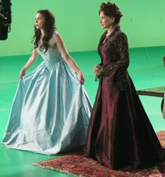 Regina's dress is stunning! The color is lovely and I luv the bodice part. Such a beautiful gown!