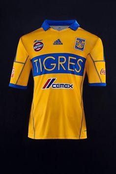 Nuevo Jersey Tigres de local para el 2013.