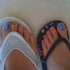 Holiday pedicures!