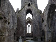 Quin Friary (Abbey), County Clare, Ireland