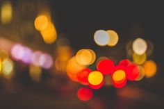New free stock photo of lights blur colorful