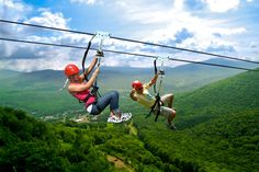 Have to go on a zipline adventure at Hunter Mountain in Upstate New York. Zipline Adventure, Adventure Tours, Adventure Activities, Adventure Travel, Day Trip To Nyc, Day Trips, Zipline Tours, Hiking Club, Lake George Village