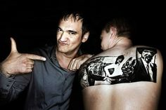 30 Amazing Tattoos Inspired by Quentin Tarantino Films - this one is 'Pulp Fiction'