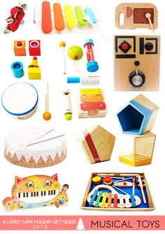 A Lovely Lark: Holiday Gift Guide 2013: Musical Toys