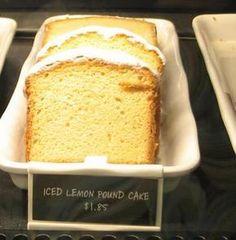 Starbucks Lemon Pound Cake for Vegans (I would still make a few alterations) Starbucks Lemon Pound Cake, Iced Lemon Pound Cake, Vegan Treats, Vegan Foods, Pound Cake Recipes, Pound Cakes, Vegan Dessert Recipes, Vegan Cake, Vegan Baking