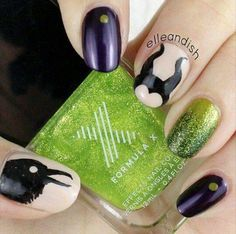 Image result for maleficent toenails