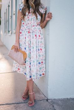 Gal Meets Glam Spring Attire -Tuckernuck dress, J. Modest Dresses, Modest Outfits, Modest Fashion, Casual Dresses, Cute Outfits, Fashion Outfits, Summer Dresses, Womens Fashion, Modest Clothing