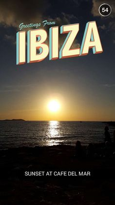 PLACE / Ibiza #snapchat #geofilters