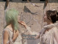 Who are you? A mermaid//