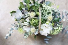basket : seasonal【S】& for mother's day - THE LITTLE SHOP OF FLOWERS