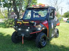 Custom emergency ATV responder for Manhasset Lakeville FD Fire Dept, Fire Department, Paramedic Quotes, Fire Equipment, Long Island Ny, Heavy Truck, Polaris Rzr, Fire Apparatus, Emergency Vehicles