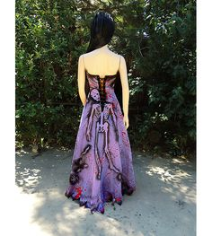 Deluxe Zombie Prom Queen Gown Costume by GraveyardShift13 on Etsy