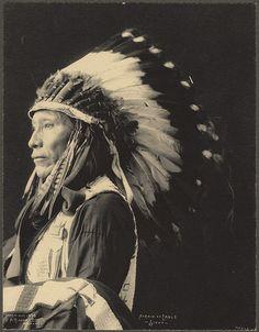 Afraid of Eagle, Sioux 1898.