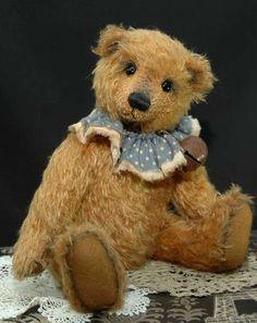 Montague by Bears*n*Bling My Teddy Bear, Cute Teddy Bears, Antique Teddy Bears, Love Bears All Things, Warm Fuzzies, Doll Quilt, Bear Doll, Cuddling, Dolls