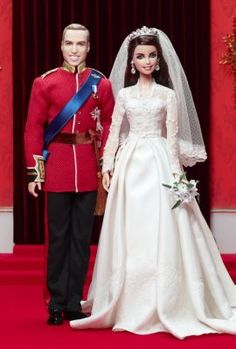 William And Catherine Royal Wedding® Giftset   more-pop-culture-dolls   The Barbie Collection