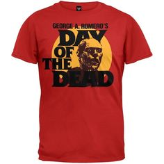 Day Of The Dead Circle Portrait Red T-Shirt (Medium)
