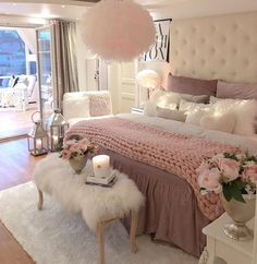 bedroom inspirations 58 Inspiring Modern Bedroom Design Ideas These trendy Nails ideas would gain you amazing compliments. Check out our gallery for more ideas these are trendy th Teen Bedroom Designs, Bedroom Decor For Teen Girls, Modern Bedroom Design, Room Ideas Bedroom, Home Decor Bedroom, Girl Bedrooms, Bed Room, Master Bedroom, Bedroom Styles