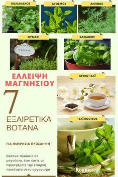 Έλλειψη Μαγνησίου: 9 Συμπτώματα Και Πως Να Την Αντιμετωπίσετε Remedies, Health Fitness, Healing, Herbs, Face, Plants, Amor, Health, Plant