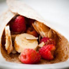 Breakfast Energy Wrap Daniel Fast