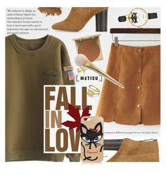 """Fall in Love"" by metisu-fashion ❤ liked on Polyvore featuring SOREL, Isabel Marant, Stila, LORAC, Dsquared2, Kate Spade, polyvoreeditorial, catstyle, polyvoreset and metisu"