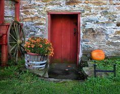 Red Door, West Virginia by crabsandbeer (Kevin Moore), via Flickr