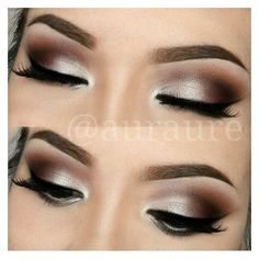Eye Makeup for Brown Eyes Apply The Perfect Look ❤ liked on Polyvore featuring beauty products, makeup, eye makeup and eyes